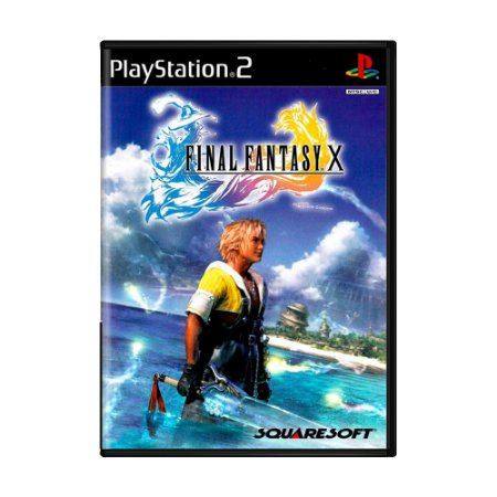 Jogo Final Fantasy X - PS2