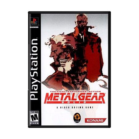 Jogo Metal Gear Solid - PS1
