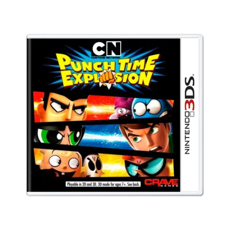 Jogo Cartoon Network: Punch Time Explosion - 3DS