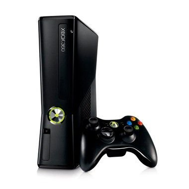 Console Xbox 360 Slim 4GB + 2 Jogos de Brinde - Microsoft