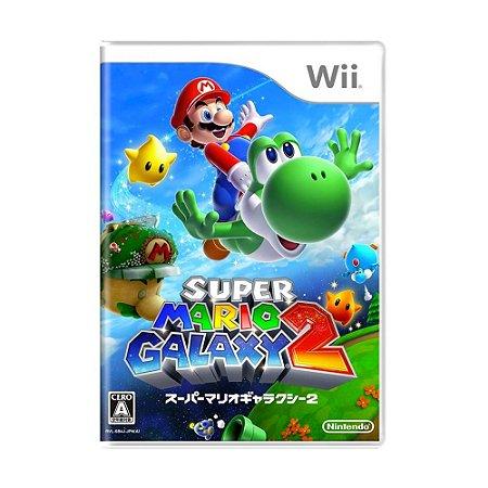 Jogo Super Mario Galaxy 2 - Wii [Japonês]
