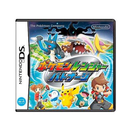 Jogo Pokémon Ranger Shadows of Almia - DS