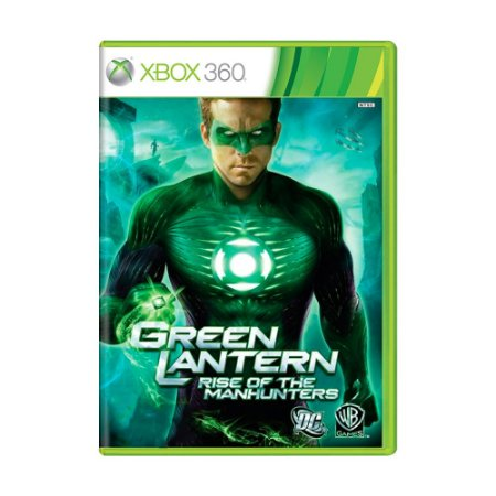 Jogo Green Lantern: Rise of The Manhunters - Xbox 360