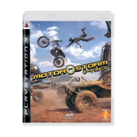 Jogo MotorStorm - PS3 [Japonês]