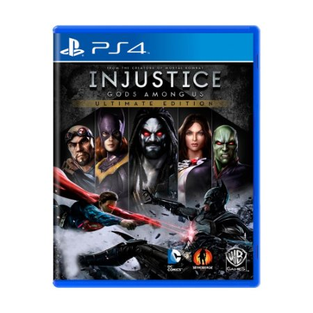 Jogo Injustice Gods Among Us (Ultimate Edition) - PS4