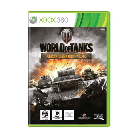 Jogo World of Tanks - Xbox 360