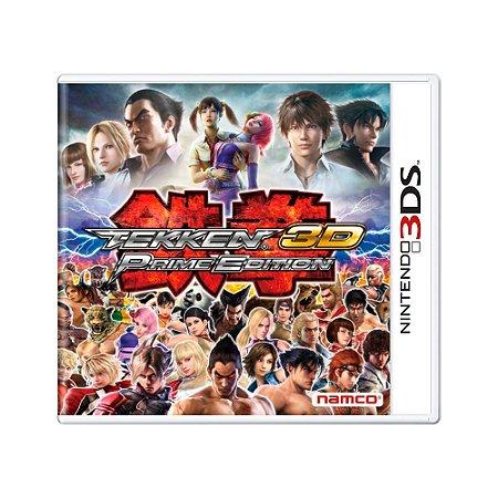 Jogo Tekken 3D Prime Edition - 3DS