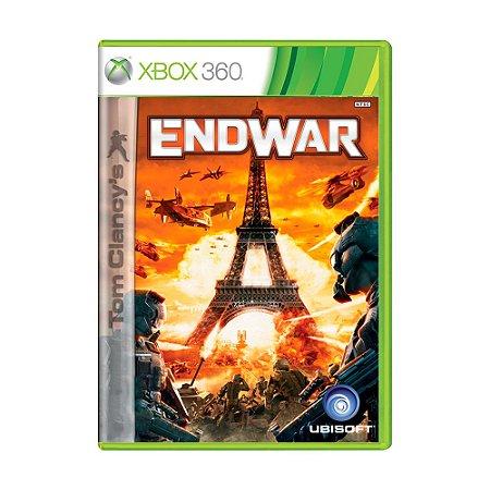Jogo Tom Clancy's: EndWar - Xbox 360