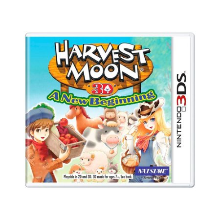 Jogo Harvest Moon 3D: A New Beginning - 3DS