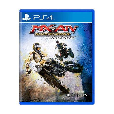 Jogo MX vs. ATV: SuperCross Encore - PS4