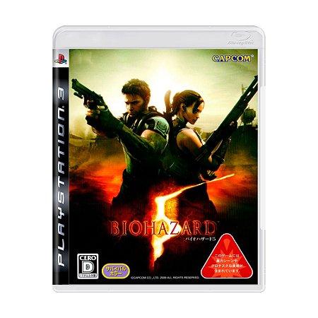 Jogo Biohazard 5 - PS3