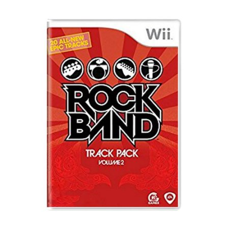Jogo Rock Band Track Pack Volume 2 - Wii