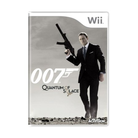 Jogo James Bond 007: Quantum of Solace - Wii