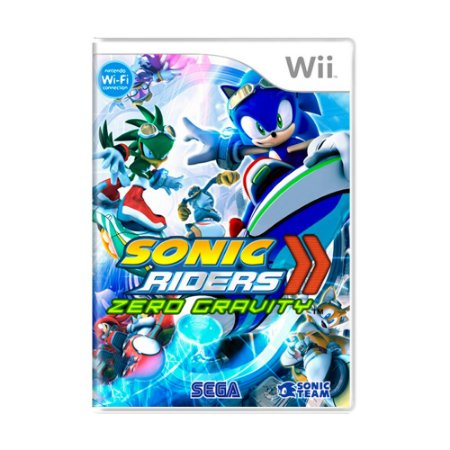 Jogo Sonic Riders: Zero Gravity - Wii