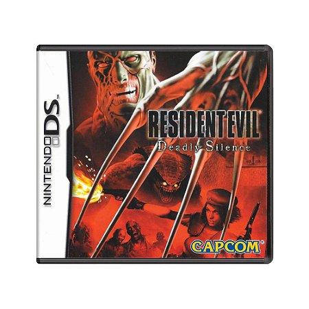 Jogo Resident Evil Deadly Silence - DS