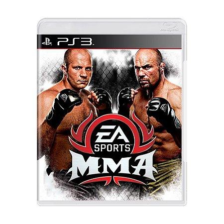Jogo EA Sports MMA - PS3