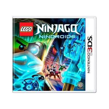 Jogo Lego Ninjago: Nindroids - 3DS