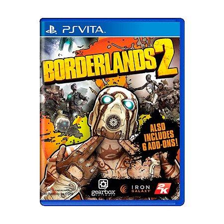 Jogo Borderlands 2 - PS Vita