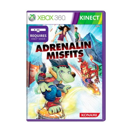 Jogo Adrenalin Misfits - Xbox 360