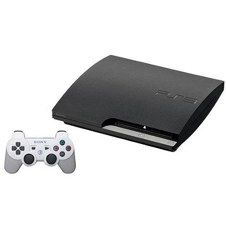 Console PlayStation 3 Slim 120GB + 2 Jogos de Brinde - Sony