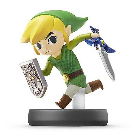 Nintendo Amiibo: Toon Link - Super Smash Bros - Wii U e New Nintendo 3DS