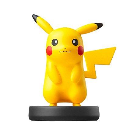 Nintendo Amiibo: Pikachu - Super Smash Bros - Wii U e New Nintendo 3DS