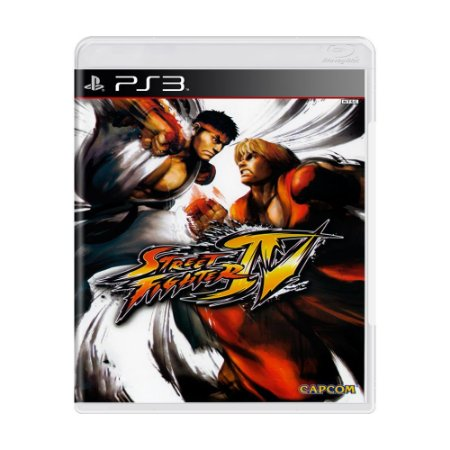 Jogo Street Fighter IV - PS3