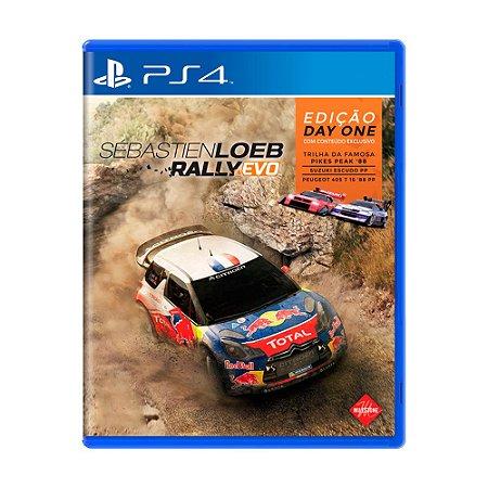 Jogo Sébastien Loeb Rally Evo - PS4