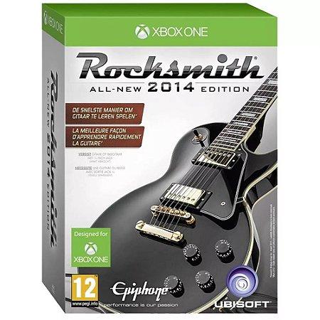 Jogo Rocksmith 2014 Edition + Cabo - Xbox One