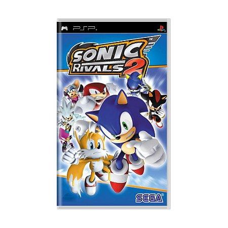 Jogo Sonic Rivals 2 - PSP