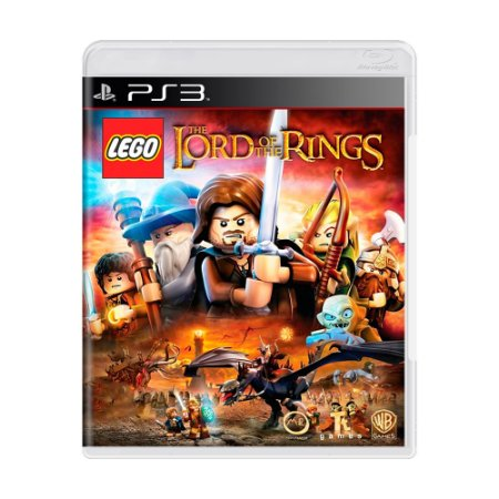 Jogo LEGO The Lord of The Rings - PS3
