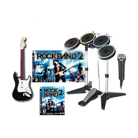 Kit Rock Band 2 - PS3