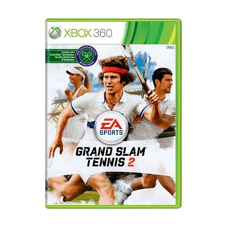 Jogo Grand Slam Tennis 2 - Xbox 360