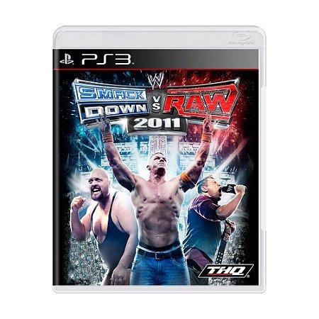 Jogo Smack Down vs Raw 2011 - PS3