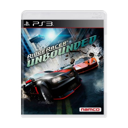 Jogo Ridge Racer Unbounded - PS3