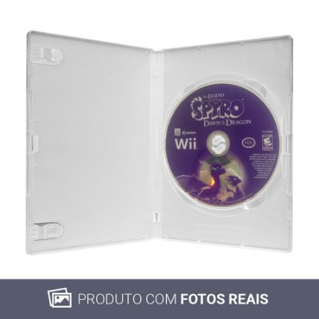 Jogo The Legend of Spyro: Dawn of the Dragon - Wii (Sem Capa)