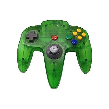 Controle Nintendo 64 Verde Transparente - Nintendo