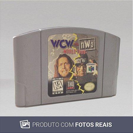 Jogo WCW vs nWo: World Tour - N64