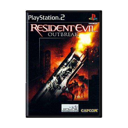 Jogo Resident Evil: Outbreak - PS2