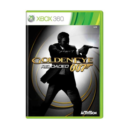 Jogo 007 Goldeneye Reloaded - Xbox 360