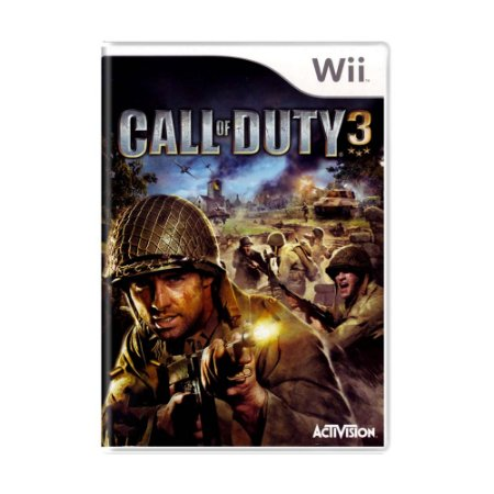 Jogo Call Of Duty 3 - Wii