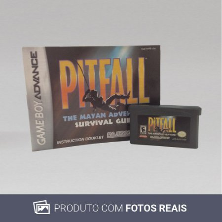 Jogo Pitfall - GBA Game Boy Advance