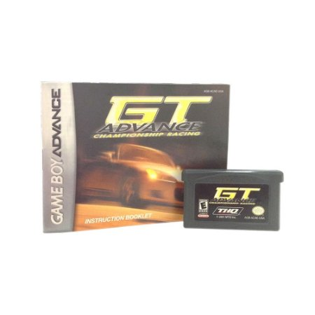 Jogo  GT Advance Championship Racing - GBA
