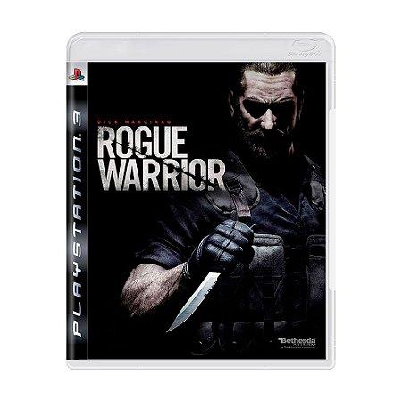 Jogo Rogue Warrior - PS3