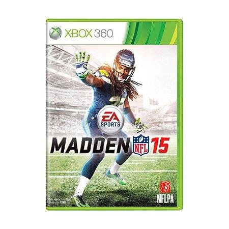Jogo Madden NFL 15 - Xbox 360