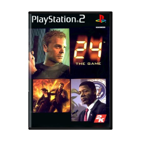 Jogo 24: The Game - PS2