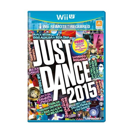 Jogo Just Dance 2015 - Wii U