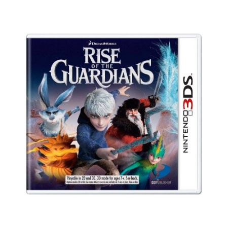 Jogo Rise of the Guardians - 3DS