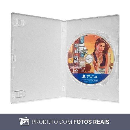 Jogo Grand Theft Auto V (GTA 5) - PS4 (Sem Capa)