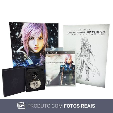 Jogo Final Fantasy XIII: Lightning Returns (Collector's Edition) - PS3